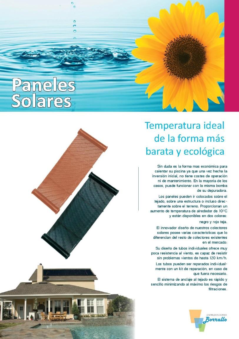 paneles solares - distribuciones borrallo